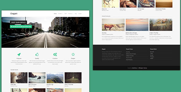 Free Responsive and Beautiful Wordpress theme collections of 2014 |