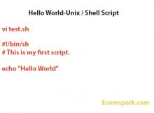 unix-shell-script